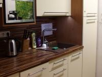 kuchyňka u kanceláří - Pronájem skladovacích prostor 176 m², Říčany