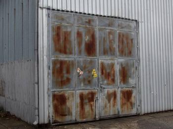 vjezdová vrata - Pronájem skladovacích prostor 176 m², Říčany