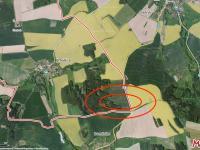 Soubor poz. v jedné lokalitě - Prodej pozemku 8635 m², Načeradec