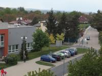 výhled z okna - Prodej bytu 1+kk v osobním vlastnictví 20 m², Říčany