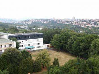 výhled z oken na Prahu - Prodej bytu 2+kk v osobním vlastnictví 40 m², Praha 4 - Krč