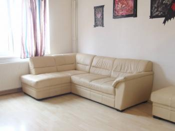 obývák - Prodej bytu 2+kk v osobním vlastnictví 40 m², Praha 4 - Krč