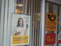 v přízemí domu je pošta - Pronájem bytu 2+kk v osobním vlastnictví 56 m², Praha 10 - Uhříněves