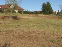 pohled ze spodní části pozemku - Prodej pozemku 1300 m², Říčany