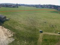 Vyznačení pozemku - Prodej pozemku 7522 m², Vyžlovka