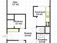 Prodej bytu 4+kk v družstevním vlastnictví 90 m², Praha 4 - Chodov