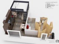 Pronájem bytu 1+kk v osobním vlastnictví 24 m², Praha 6 - Dejvice