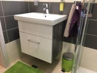 Koupelna (Prodej bytu 2+kk v osobním vlastnictví 48 m², Praha 1 - Staré Město)