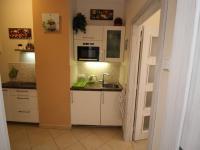 Kuchyňský kout v hale (Prodej bytu 2+kk v osobním vlastnictví 48 m², Praha 1 - Staré Město)