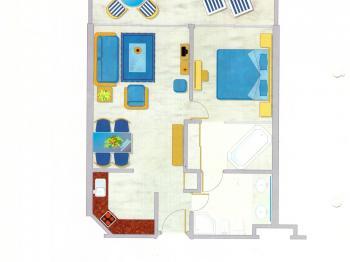 Prodej bytu 2+kk 60 m², Anfi