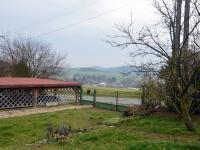pohled z balkonu (Prodej domu 97 m², Bouzov)