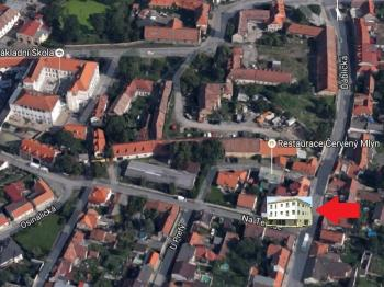 mapa - Prodej bytu 1+1 v osobním vlastnictví 51 m², Praha 8 - Ďáblice
