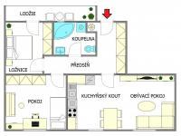 Prodej bytu 3+kk v osobním vlastnictví 72 m², Praha 8 - Ďáblice