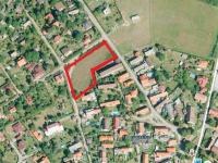 pohled z výšky (Prodej pozemku 3450 m², Štěchovice)