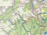 turistická mapa (Prodej pozemku 3450 m², Štěchovice)