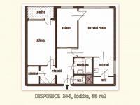 Prodej bytu 3+1 v osobním vlastnictví 66 m², Praha 4 - Braník