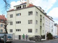 Vizualizace domu po plánované rekonstrukci (Prodej bytu 2+1 v osobním vlastnictví 61 m², Praha 4 - Michle)