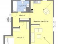 Prodej bytu 2+kk v osobním vlastnictví 80 m², Praha 9 - Libeň