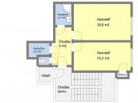 Prodej kancelářských prostor 46 m², Praha 3 - Vinohrady