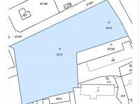 katastrální mapa - stav před dělením - Prodej pozemku 956 m², Štěchovice