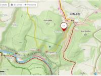 mapa - Prodej chaty / chalupy 77 m², Petrov