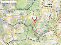turistická mapa - Prodej chaty / chalupy 77 m², Petrov