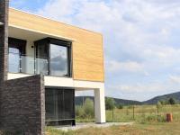 pohled ze zahrady - Pronájem domu v osobním vlastnictví 248 m², Černošice
