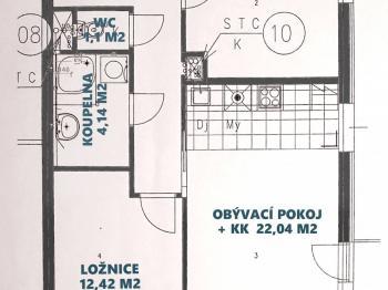 Prodej bytu 3+kk v osobním vlastnictví 64 m², Praha 9 - Hostavice
