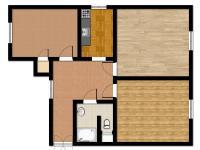 Prodej bytu 3+kk v osobním vlastnictví 73 m², Děčín