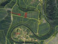 Pozemek Doudleby - satelitní mapa - Prodej pozemku 2336 m², Doudleby
