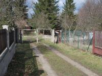 příjezdová cesta - Prodej pozemku 1514 m², Praha 9 - Vinoř