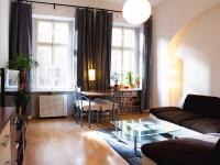 Pronájem bytu 2+kk v družstevním vlastnictví 60 m², Praha 8 - Karlín