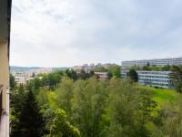 Pohled z lodžie - Prodej bytu 1+1 v osobním vlastnictví 34 m², Praha 4 - Krč