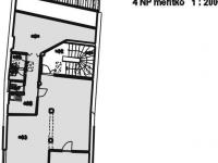 4.NP půdorys (Pronájem komerčního objektu 188 m², Valašské Meziříčí)