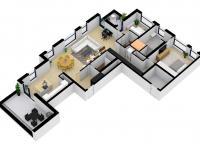 Pronájem bytu 3+kk v osobním vlastnictví 118 m², Liberec