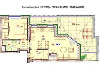 Prodej bytu 2+kk v osobním vlastnictví 78 m², Plzeň