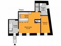 Přízemí - 1NP - Pronájem bytu 4+kk v osobním vlastnictví 186 m², Bohutice