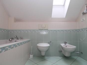 koupelna v patře u ložnice - Prodej domu v osobním vlastnictví 250 m², Ostrov
