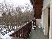balkon z ložnice - Prodej domu v osobním vlastnictví 250 m², Ostrov
