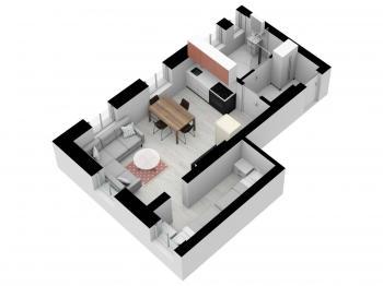 Prodej bytu 2+kk v osobním vlastnictví, 35 m2, Nové Hamry
