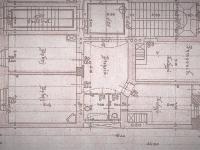 půdorys bytu z roku 1910 (Prodej bytu 2+1 v družstevním vlastnictví 76 m², Praha 2 - Vinohrady)