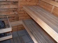 sauna na terase (Pronájem bytu 3+kk v osobním vlastnictví 145 m², Praha 2 - Vinohrady)