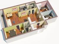 Prodej bytu 4+1 v družstevním vlastnictví 107 m², Praha 5 - Stodůlky