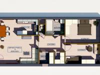 2D (Prodej bytu 3+kk v osobním vlastnictví 84 m², Praha 6 - Břevnov)