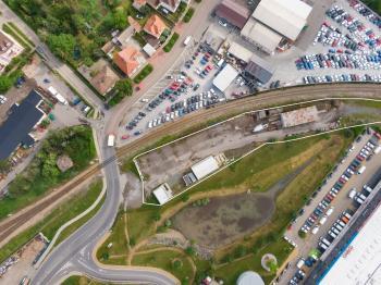 Ptačí pohled - Prodej komerčního objektu 3665 m², Chrášťany