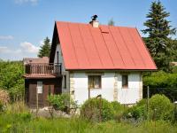 Pohled na chatu (Prodej chaty / chalupy 80 m², Psáry)