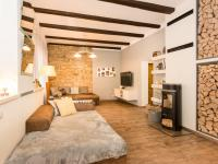 obývací část (Prodej domu v osobním vlastnictví 200 m², Unhošť)