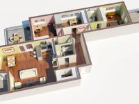 Prodej bytu 4+kk v družstevním vlastnictví 119 m², Praha 10 - Dolní Měcholupy