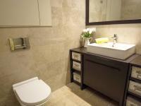 koupelna se sprchovým koutem (Prodej bytu 2+kk v osobním vlastnictví 107 m², Praha 9 - Hrdlořezy)