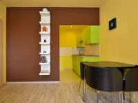 obývák (Prodej bytu 2+kk v osobním vlastnictví 42 m², Praha 5 - Stodůlky)